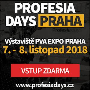 Veletrh Profesia days 2018 | Uplatnění na pracovním trhu pro studenty |